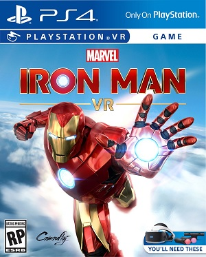 Sony Iron Man VR PS4 Playstation 4 Game