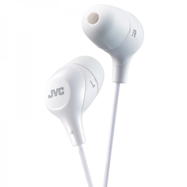 JVC HAFX38 Marshmallow Headphones