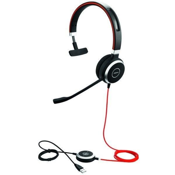 Jabra Evolve 40 MS Mono Headphones