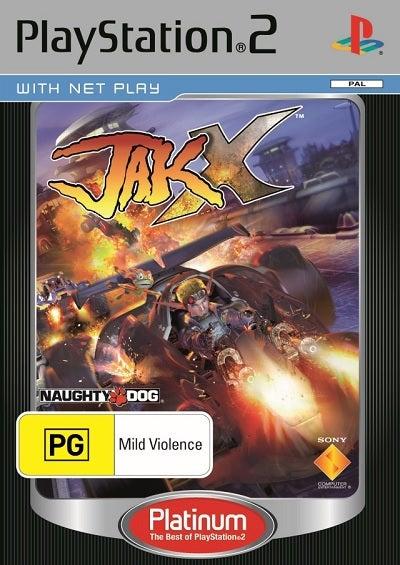 Sony Jak X Platinum Refurbished PS2 Playstation 2 Game