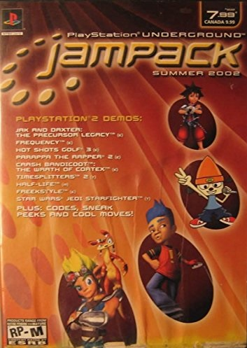 Sony Jampack Summer 2002 PS2 Playstation 2 Game