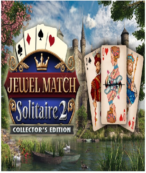 Grey Alien Games Jewel Match Solitaire 2 Collectors Edition PC Game