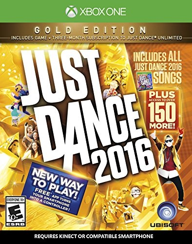 Ubisoft Just Dance 2016 Gold Edition Xbox One Game