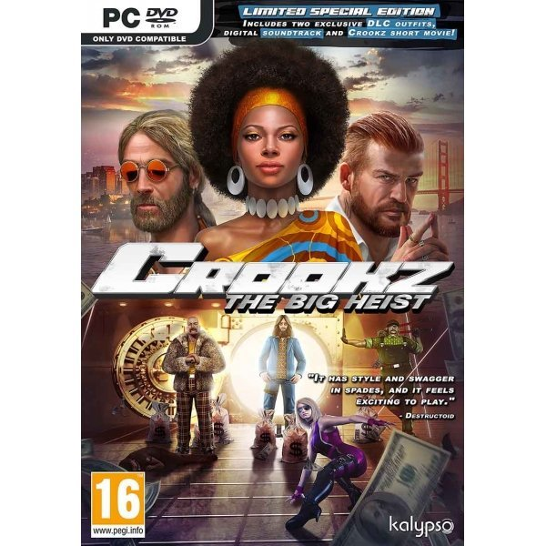 Kalypso Media Kalypso Crookz The Big Heist PC Game