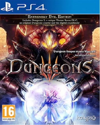 Kalypso Media Dungeons III Extremely Evil Edition PS4 Playstation 4 Game