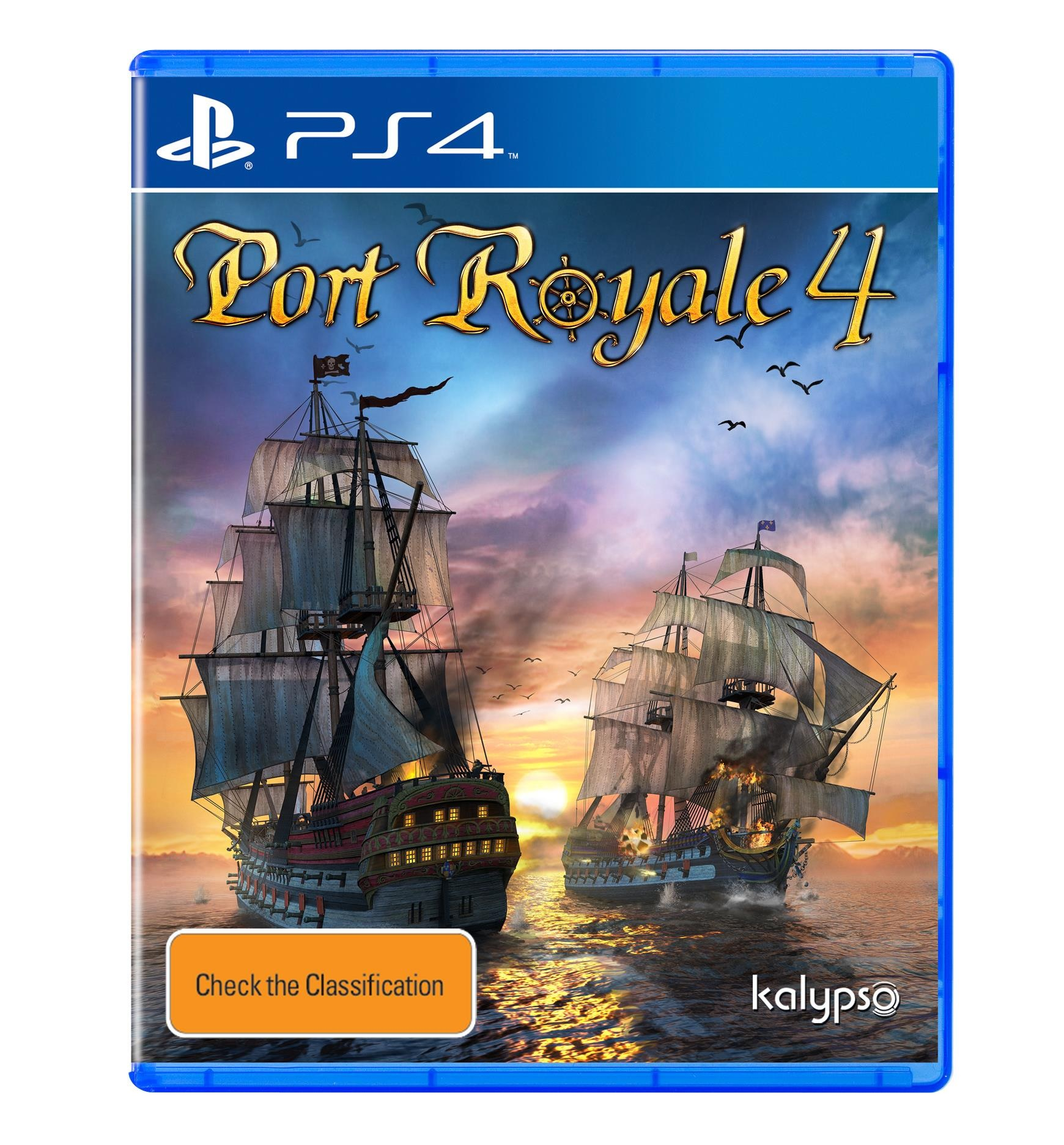 Kalypso Media Port Royale 4 PS4 Playstation 4 Game