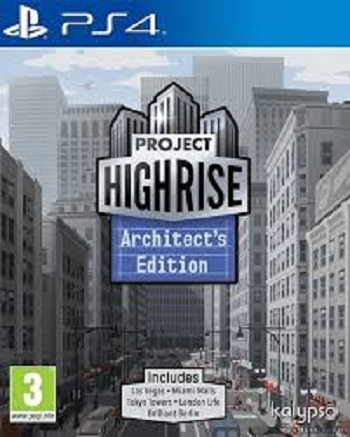 Kalypso Media Project Highrise Architects Edition PS4 Playstation 4 Game