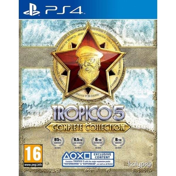 Kalypso Media Tropico 5 Complete Collection PS4 Playstation 4 Game