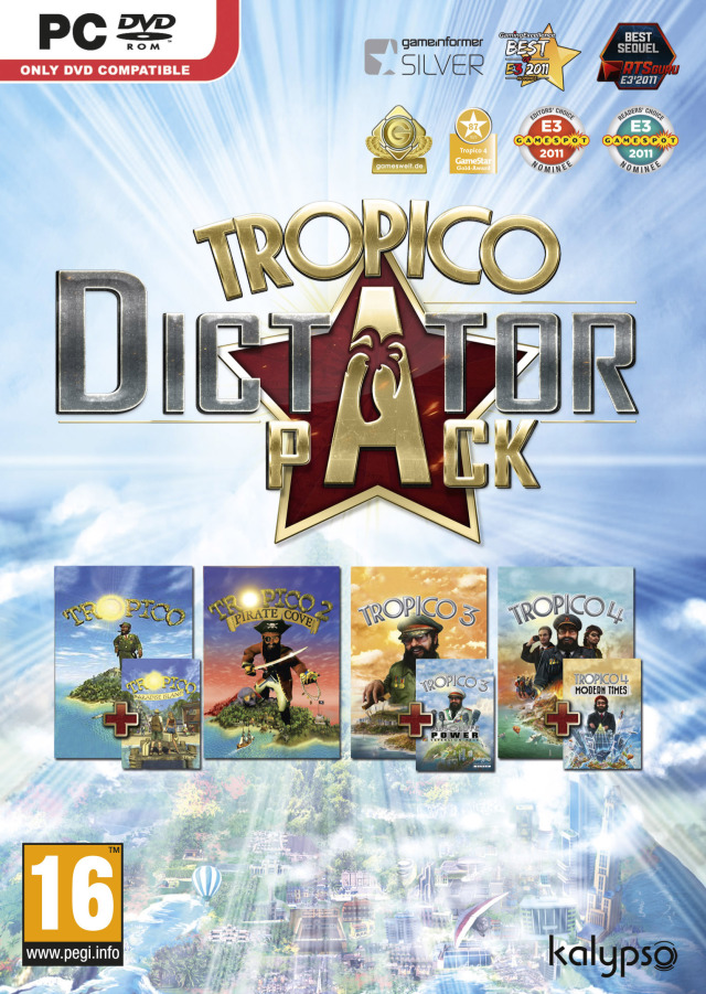 Kalypso Media Tropico Dictator Pack PC Game