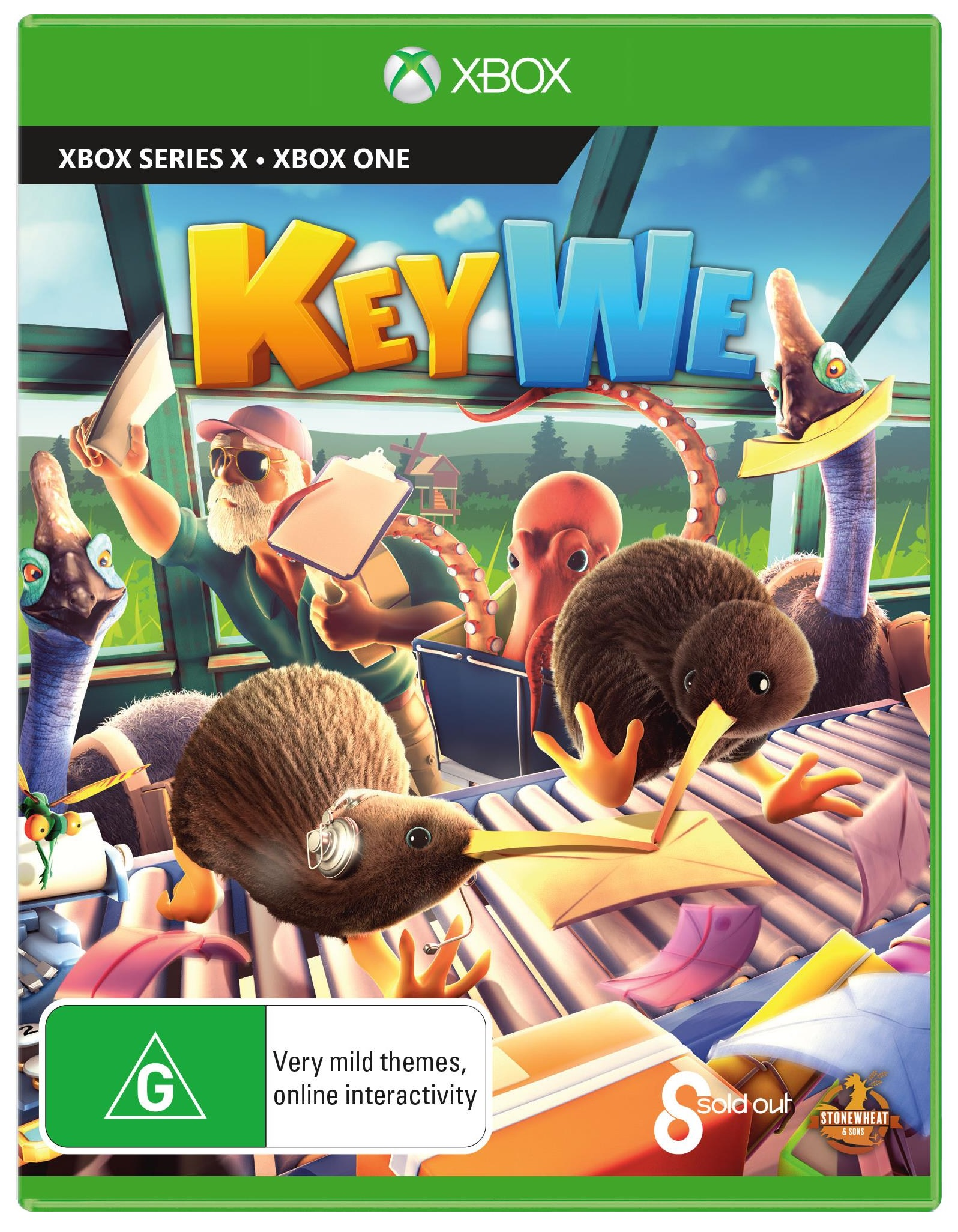 Sold Out Keywe Xbox Series X Game