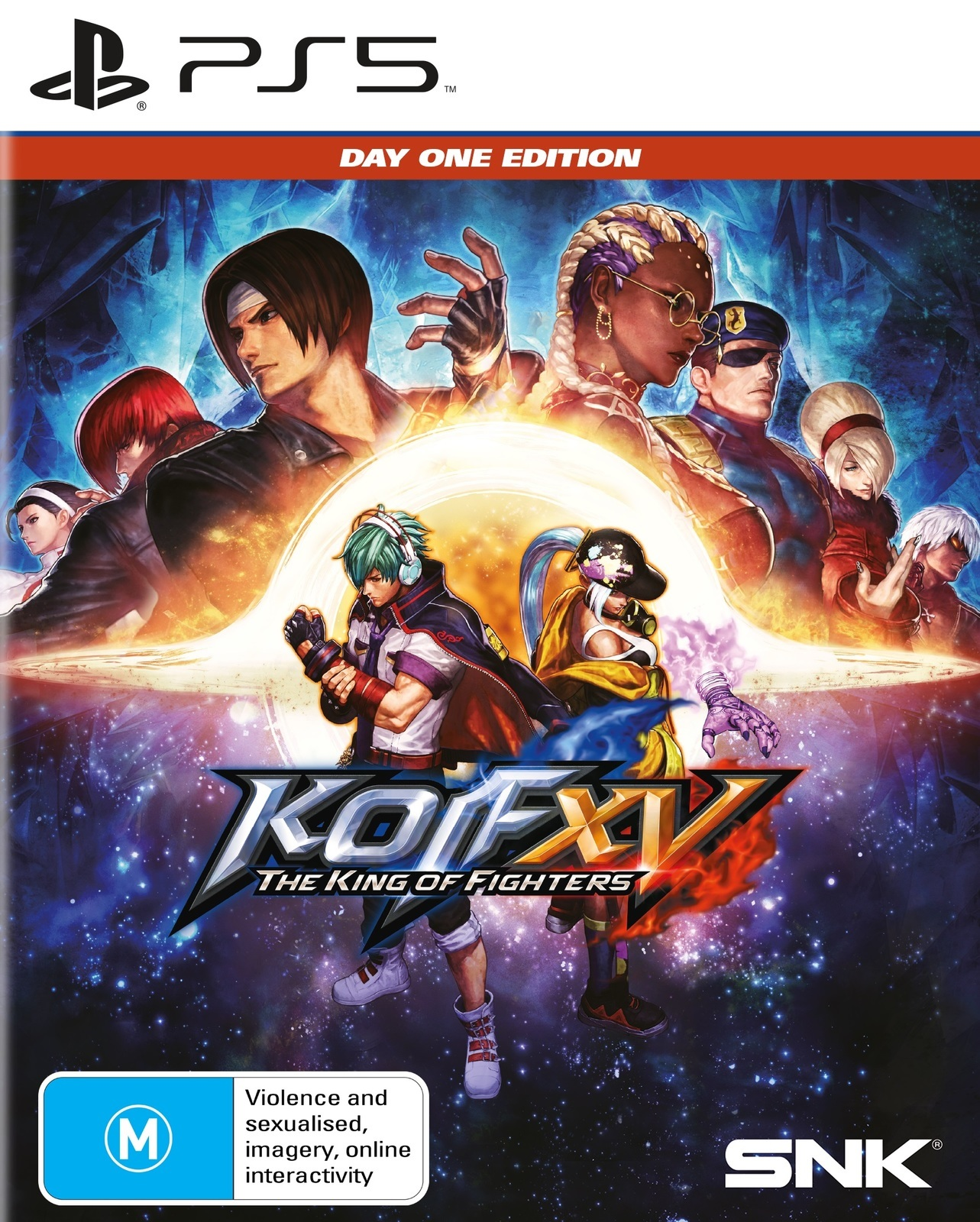 SNK King Of Fighters XV Day One Edition PS5 PlayStation 5 Game