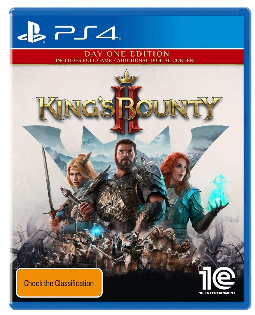 1C Company Kings Bounty 2 Day One Edition PS4 Playstation 4 Game
