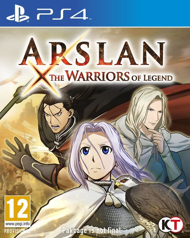 Koei Arslan The Warriors of Legend PS4 Playstation 4 Game