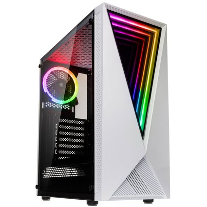 Kolink Void White RGB Mid Tower Computer Case