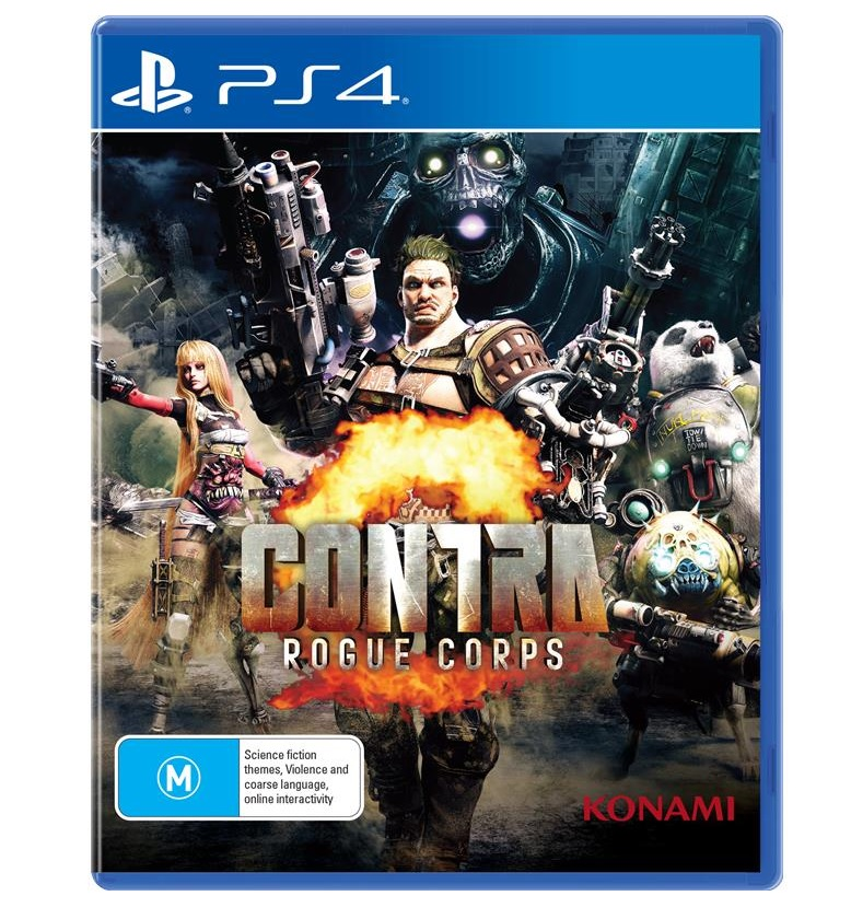 Konami Contra Rogue Corps PS4 Playstation 4 Game
