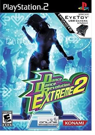 Konami Dance Dance Revolution Extreme 2 PS2 Playstation 2 Game
