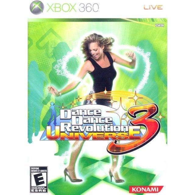 Konami Dance Dance Revolution Universe 3 Xbox 360 Game