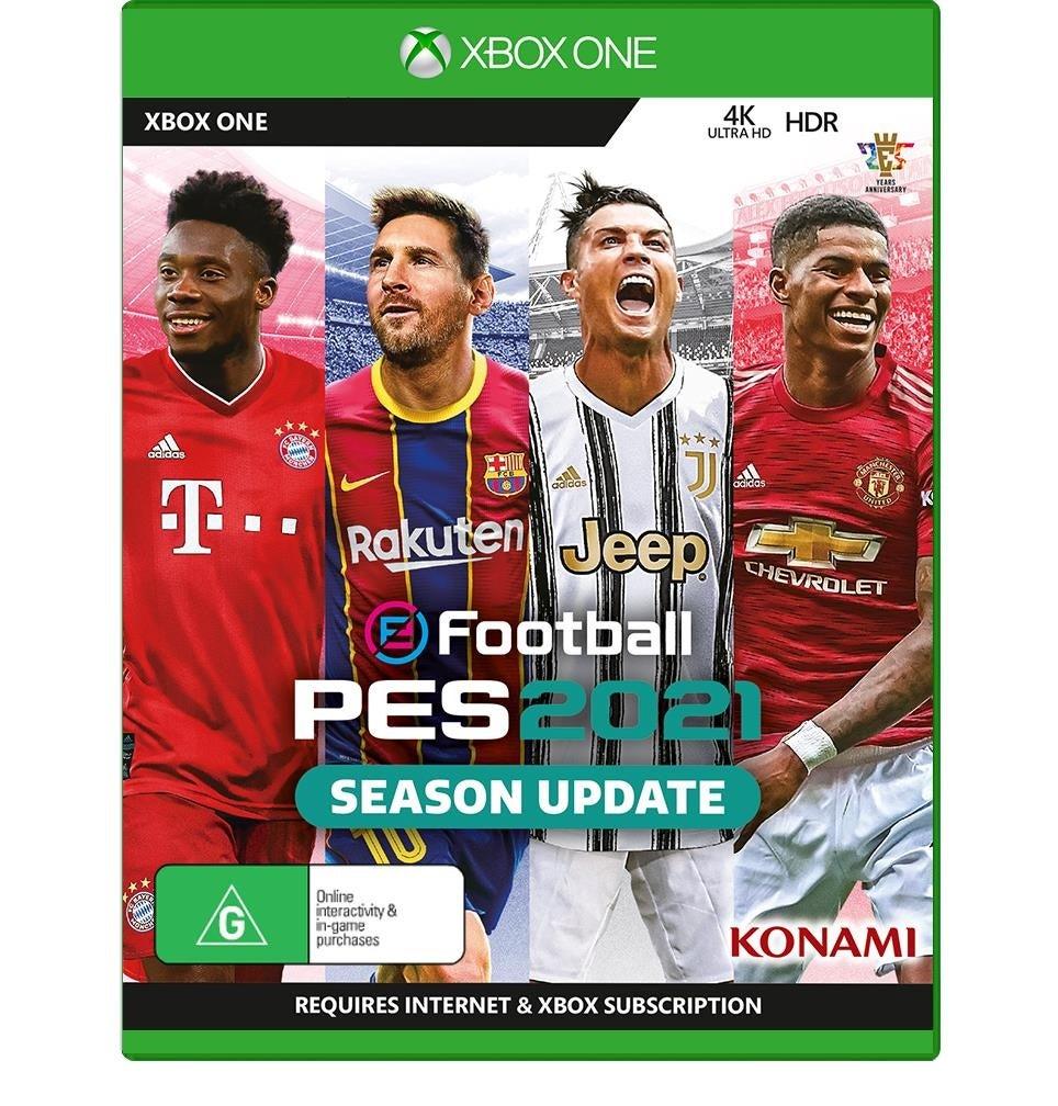Konami EFootball PES 2021 Season Update Xbox One Game