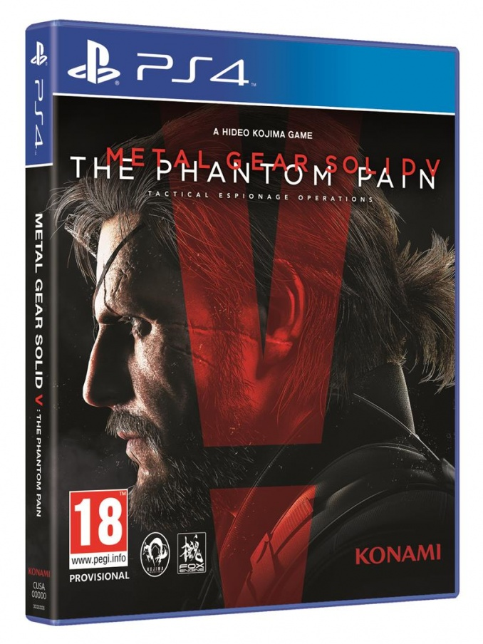 konami Konami Metal Gear Solid V The Phantom Pain Day One Edition PS4 Playstation 4 Game