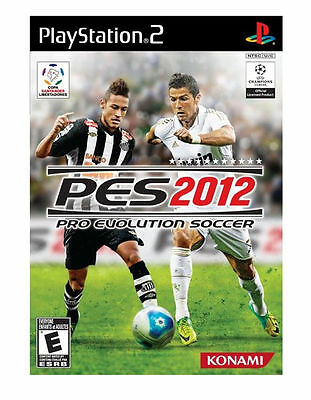 Konami Pro Evolution Soccer 2012 PS2 Playstation 2 Game