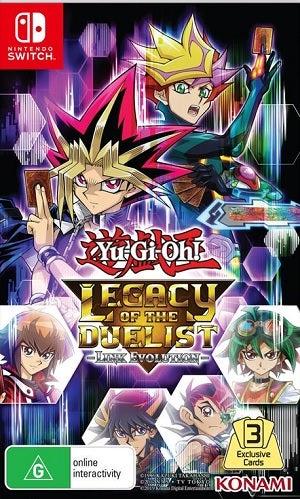 Konami Yu Gi Oh Legacy Of The Duelist Link Evolution Nintendo Switch Game