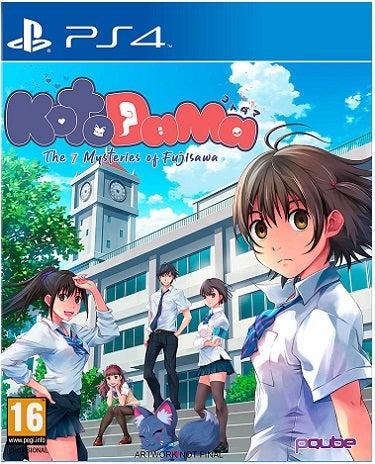PQube Kotodama The 7 Mysteries Of Fujisawa PS4 Playstation 4 Game
