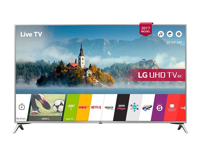 LG 60UJ651V 60inch UHD LED TV