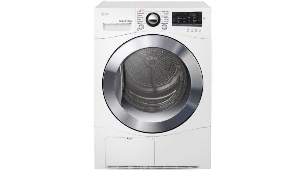LG TDC80NPW Dryer
