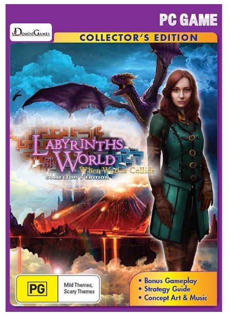 Big Fish Games Labyrinths Of The World When Worlds Collide Collectors Edition PC Game