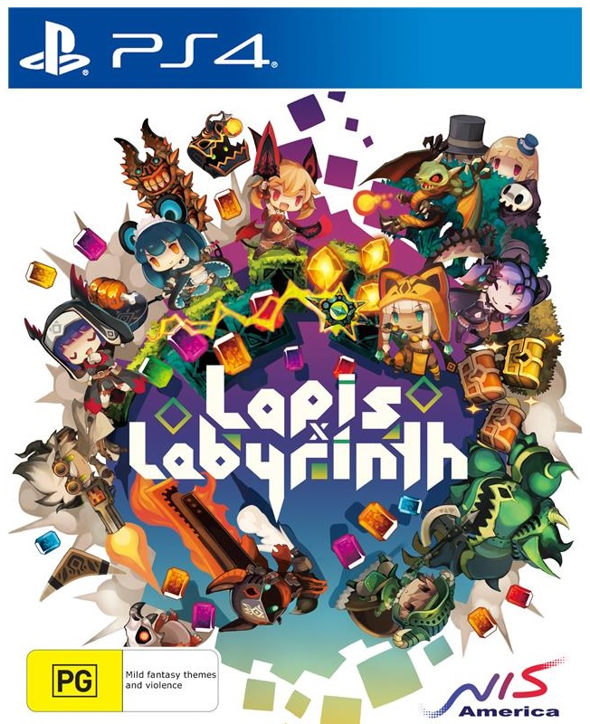 NIS Lapis X Labyrinth X Limited Edition PS4 Playstation 4 Game