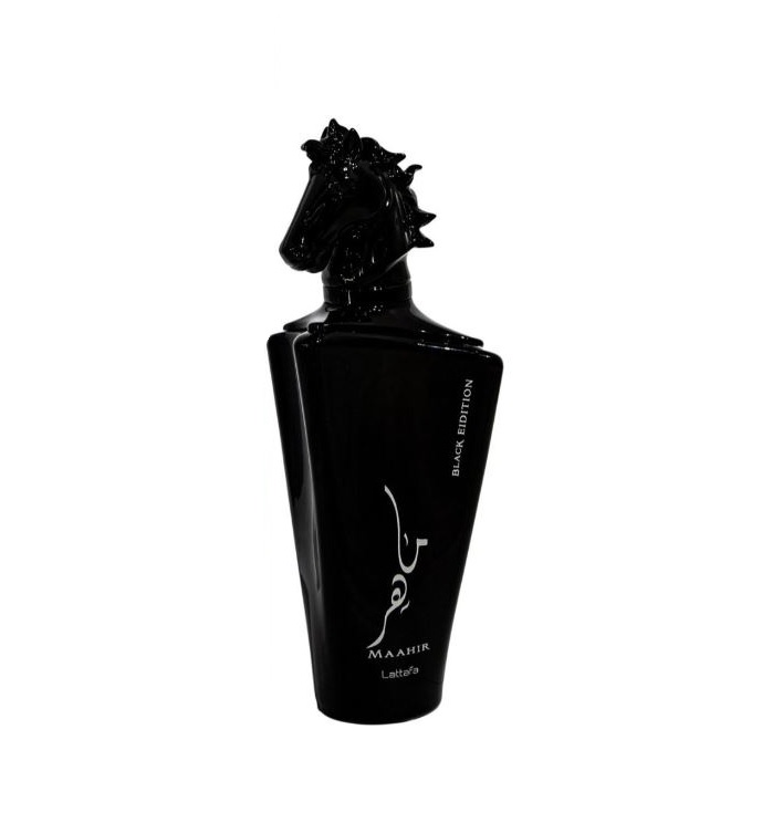 Lattafa Maahir Black Edition Unisex Cologne