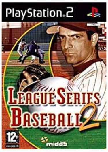 Midas League Series Baseball 2 PS2 Playstation 2 Game