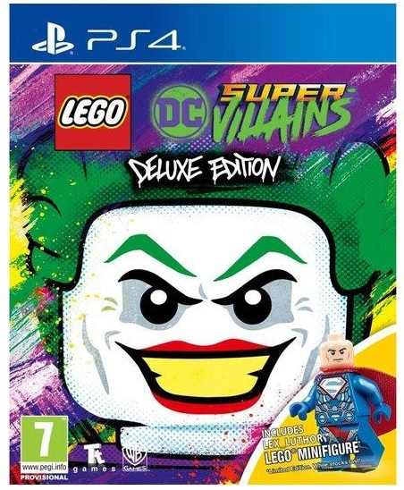 Warner Bros Lego DC Super Villains Deluxe Edition PS4 Playstation 4 Game