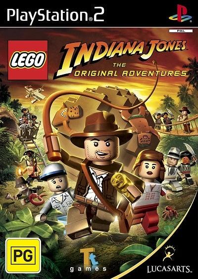Lucas Art Lego Indiana Jones The Original Adventures Refurbished PS2 Playstation 2 Game
