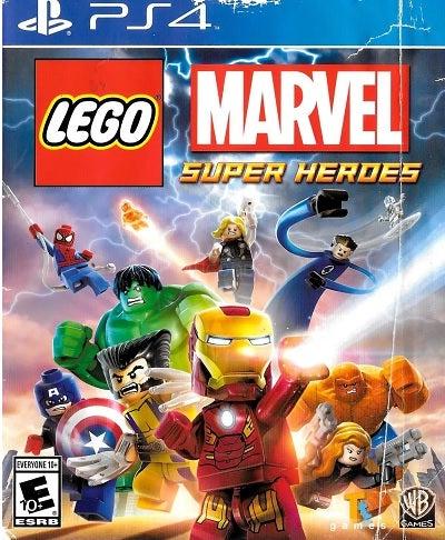Warner Bros Lego Marvel Super Heroes Refurbished PS4 Playstation 4 Game