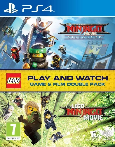 Warner Bros The Lego Ninjago Game And Film Double Pack PS4 Playstation 4 Game