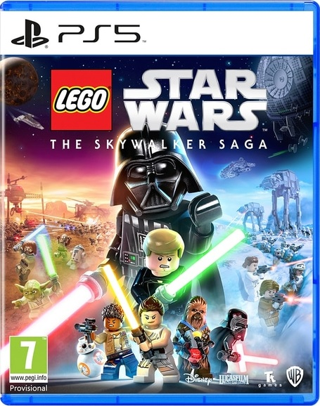 Warner Bros Lego Star Wars The Skywalker Saga Steelbook Edition PS5 PlayStation 5 Game