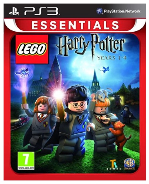 Warner Bros Lego Harry Potter 1 4 Years Essentials PS3 Playstation 3 Game