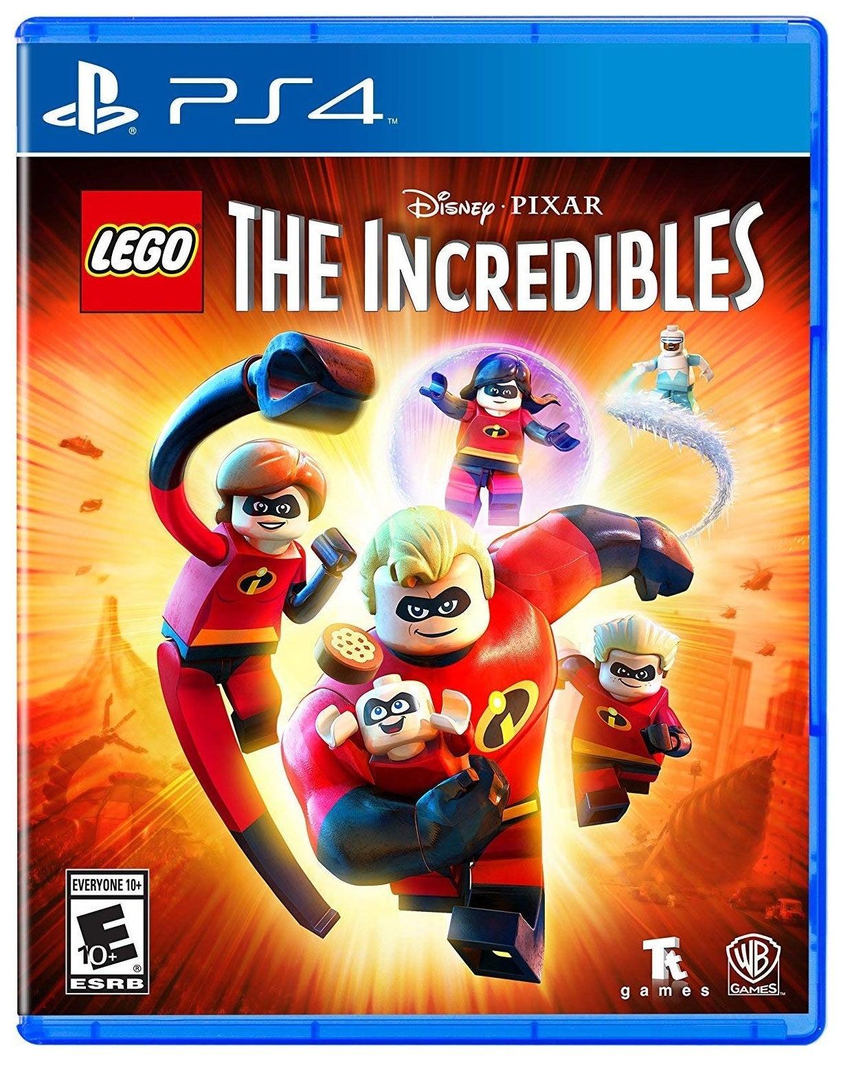 Warner Bros Lego Incredibles PS4 Playstation 4 Game
