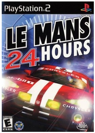Infogrames Le mans 24 Hours PS2 Playstation 2 Game