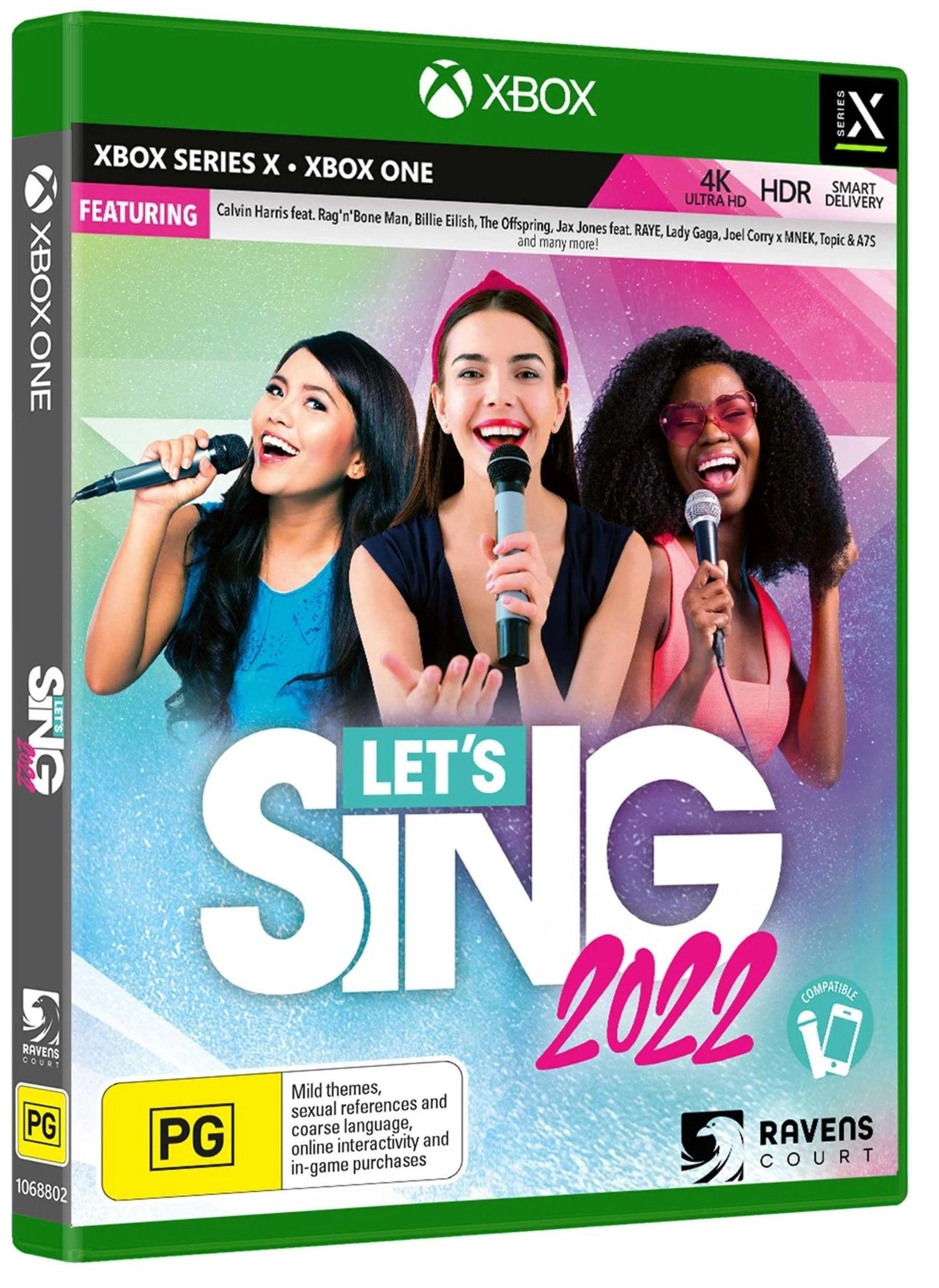 Koch Media Lets Sing 2022 Xbox Series X Game