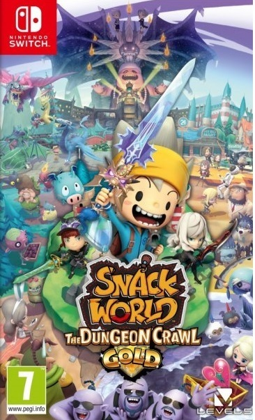 Level 5 Snack World The Dungeon Crawl Gold Edition Nintendo Switch Game