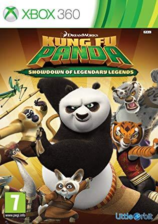 Little Orbit Kung Fu Panda Showdown of Legendary Legends Xbox 360 Game