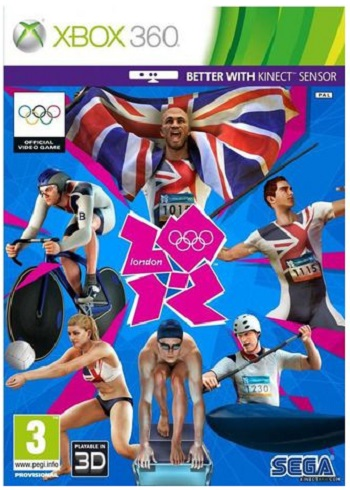 Sega London 2012 Olympics Xbox 360 Game