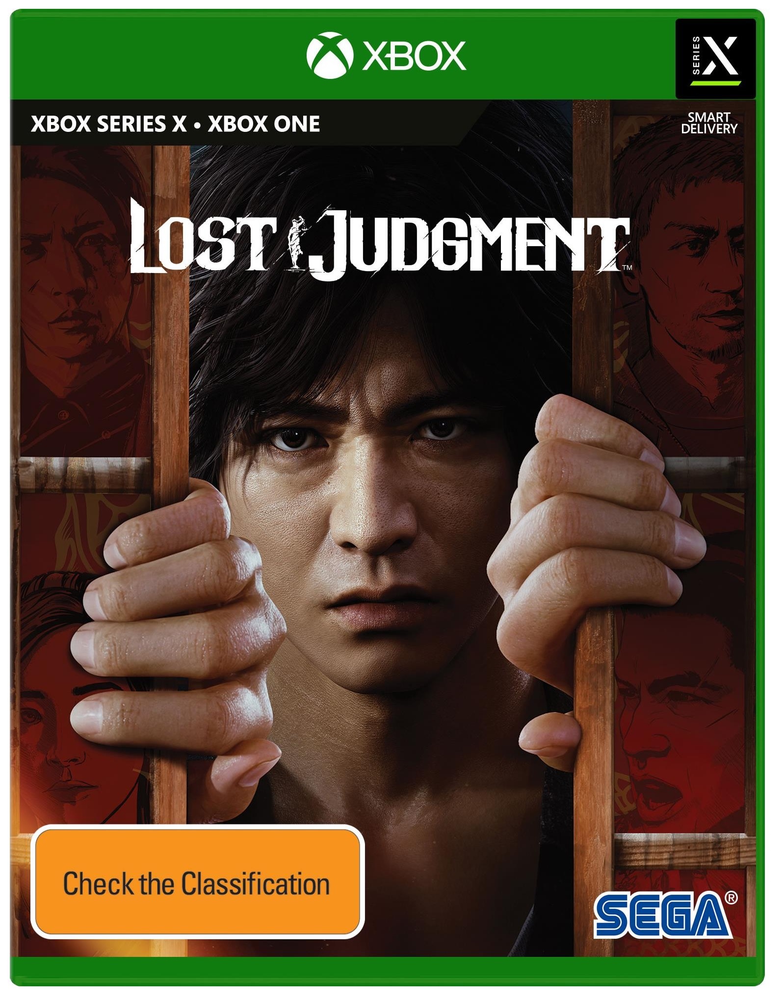Sega Lost Judgment Xbox Series X Game