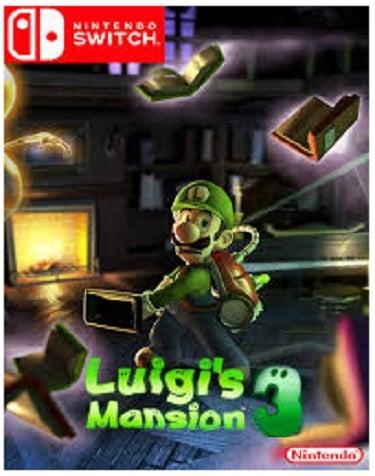 Nintendo Luigis Mansion 3 Nintendo Switch Game