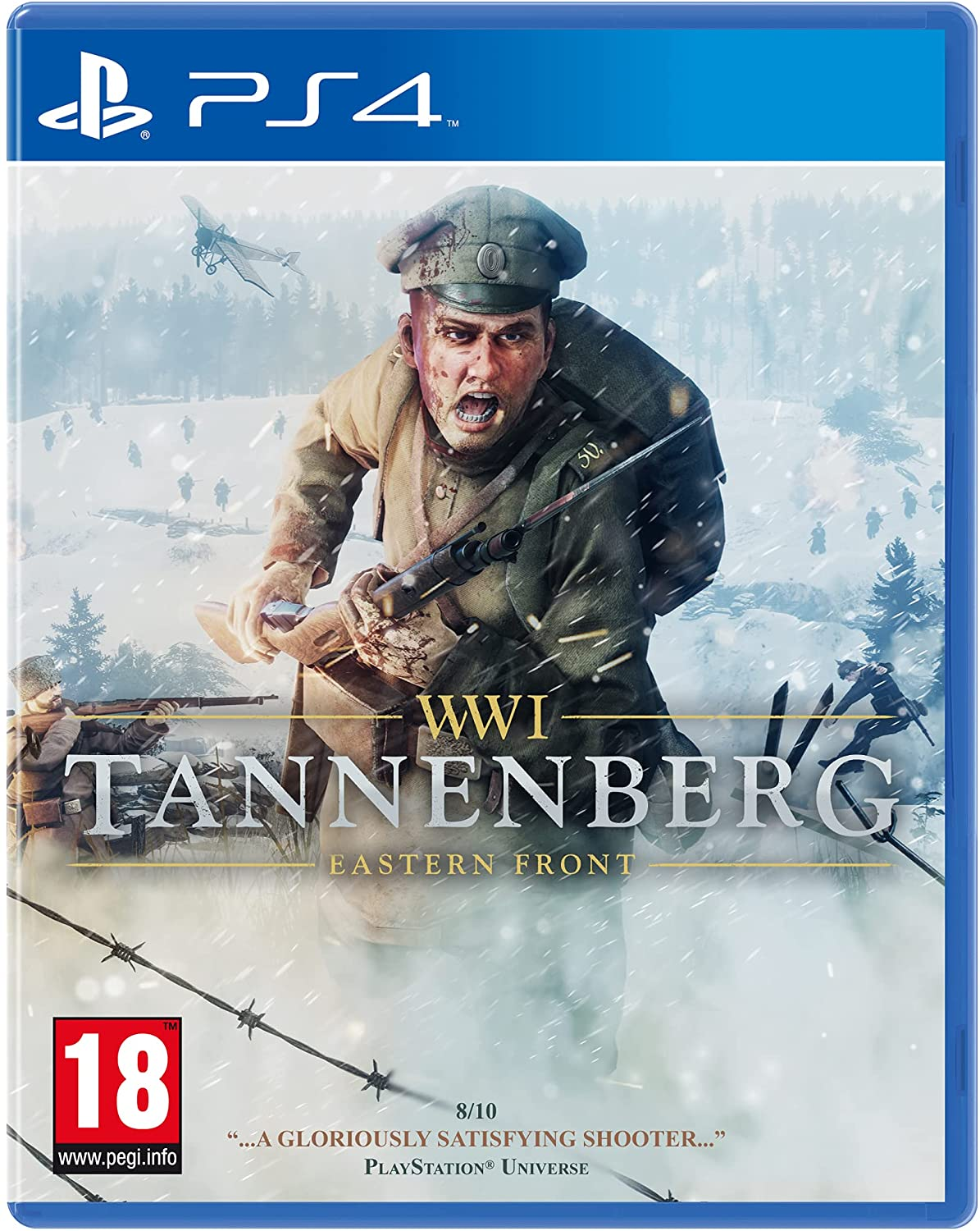 M2H WWI Tannenberg Eastern Front PS4 Playstation 4 Game