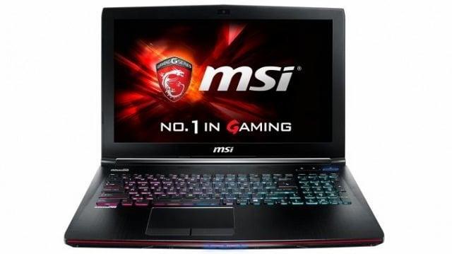 MSI GE62VR 7RF 643AU 15.6inch Laptop
