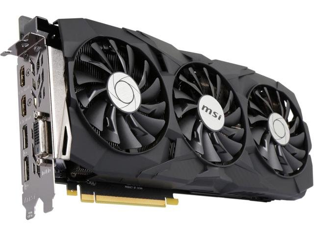 MSI NVIDIA GeForce GTX 1080 Ti Duke OC 11GB Graphics Card