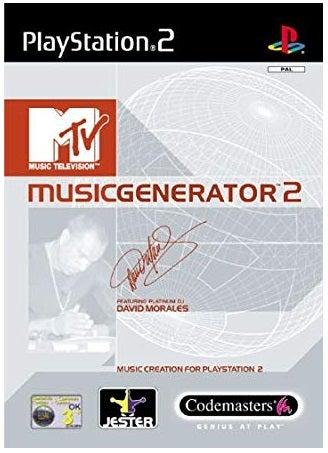 Codemasters MTV Music Generator 2 PS2 Playstation 2 Game